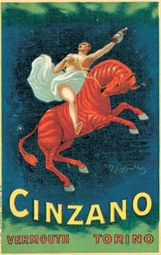 Леонетто Каппьелло, реклама Чинзано