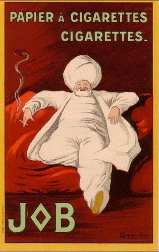 Леонетто Каппьелло, реклама сигаретной бумаги