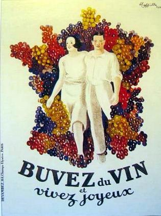 Леонетто Каппьелло, реклама вина