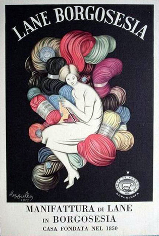 Леонетто Каппьелло, реклама ниток