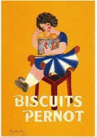 Леонетто Каппьелло, реклама печенья