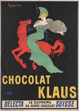Леонетто Каппьелло, реклама шоколада