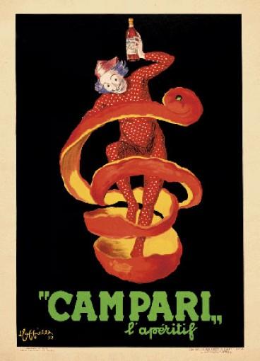 Леонетто Каппьелло, реклама Кампари