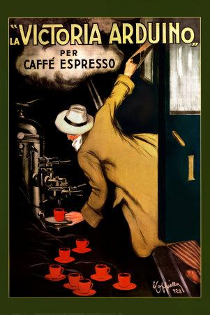 Леонетто Каппьелло, реклама кофе