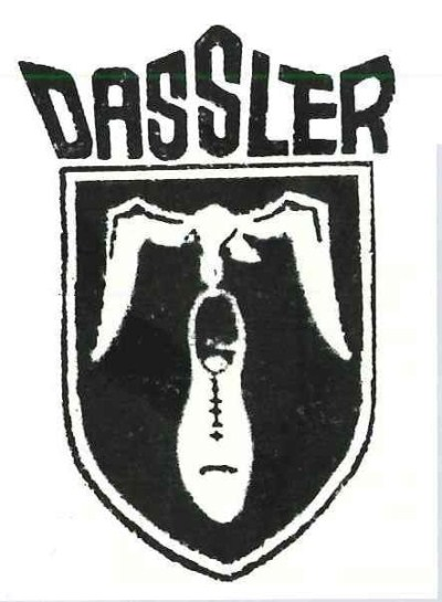 логотип совместного предприятия братьев Дасслер