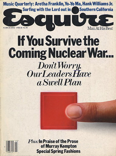 Подборка самых интригующих обложек Esquire за всю историю существования журнала.