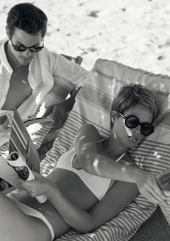 Реклама модных очков Giorgio Armani