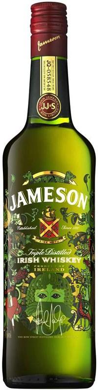 Креативная упаковка для бренда Jameson 2012