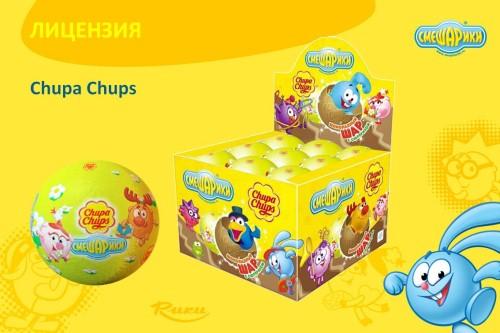 Пример ко-брендинга в рекламе Смешариков