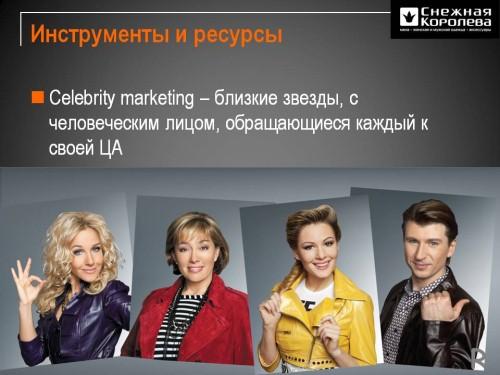 Печатная Реклама магазинов «Снежная Королева».