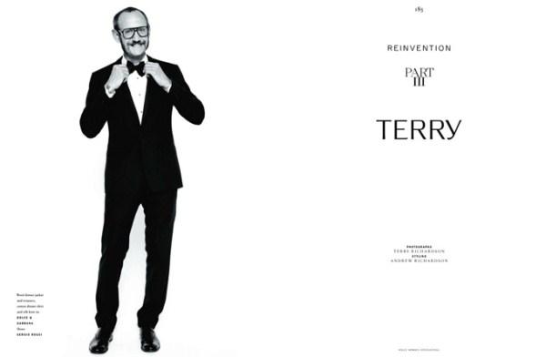 Терри Ричардсон в собственной фотосессии