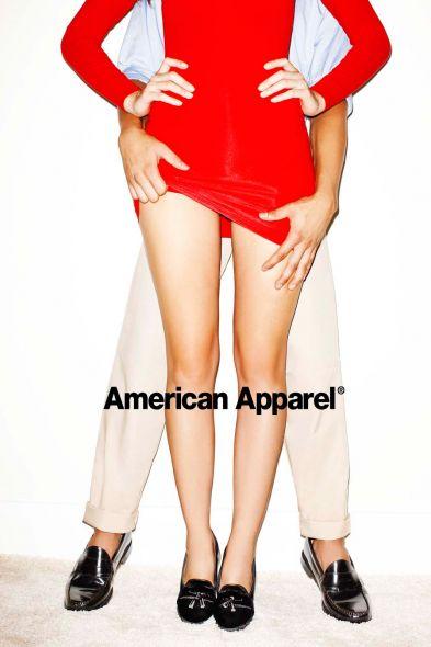провокационная реклама Бренда American Apparel
