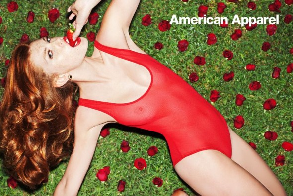 работы Тони Келли (Tony Kelly) для American Apparel