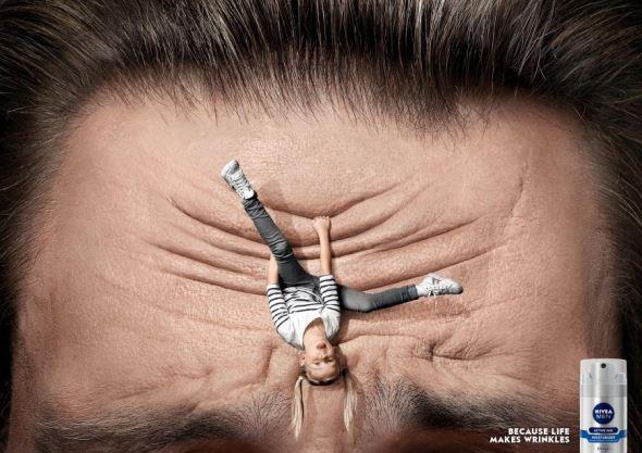 Реклама увлажняющего средства для мужчин Nivea Men