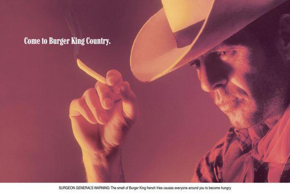 пародия на рекламную кампанию сигарет Marlboro