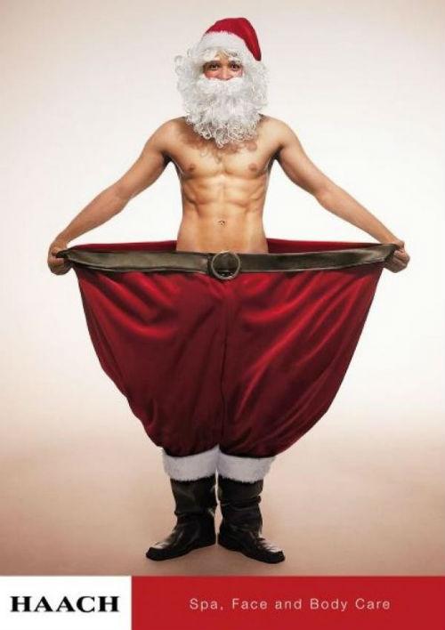 Рождественский рекламный плакат
