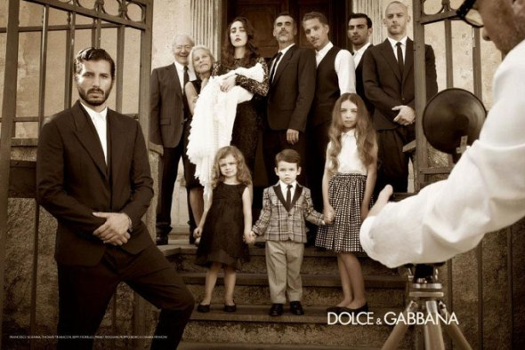 Dolce & Gabbana рекламная кампания коллекции весна/лето 2012. Бьянка Балти (Bianca Balti) и Моника Беллуччи(Monica Bellucci)