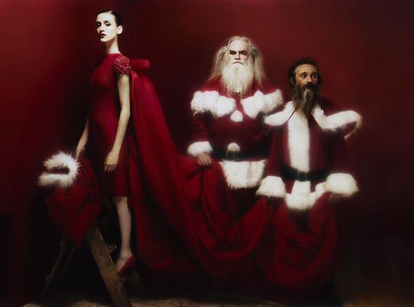 рождественская фотосессия с Katja Verheul
