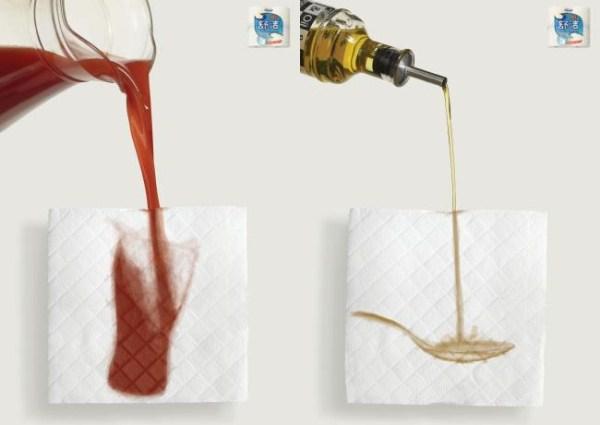 креативная реклама салфеток Kleenex - Рекламное агентство JWT, Пекин, Китай