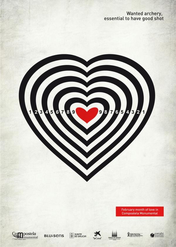 Печатная реклама на день святого валентина
