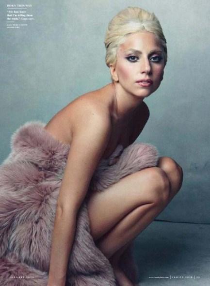 фотосессия Энни Лейбовиц (Annie Leibovitz) с Леди Гага
