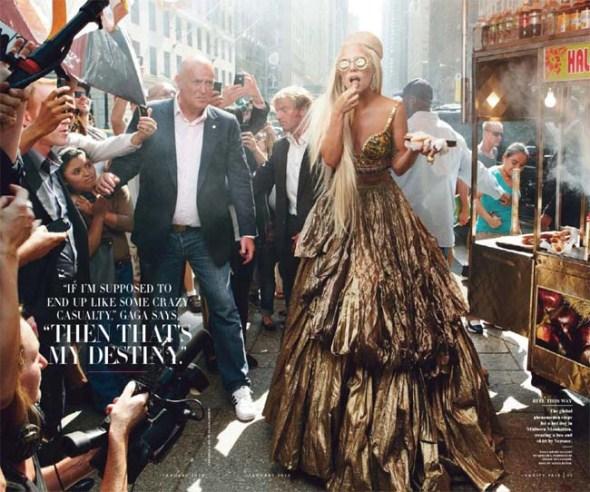 фотосессия Энни Лейбовиц (Annie Leibovitz) с Леди Гага для журнала Vanity Fair