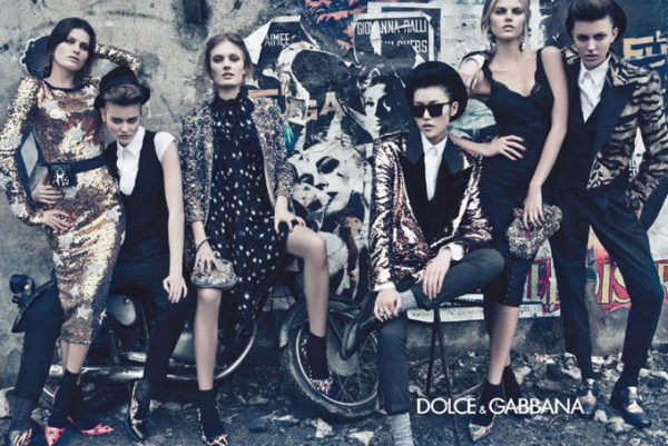 Dolce&Gabbana рекламная кампания Masculine vs Feminine
