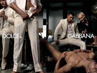 Dolce & Gabbana - сексуальные мотивы в рекламе