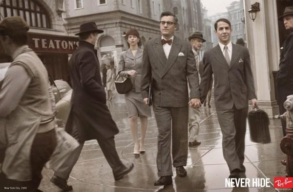 Ray-Ban и нашумевшая рекламная кампания «Never hide»