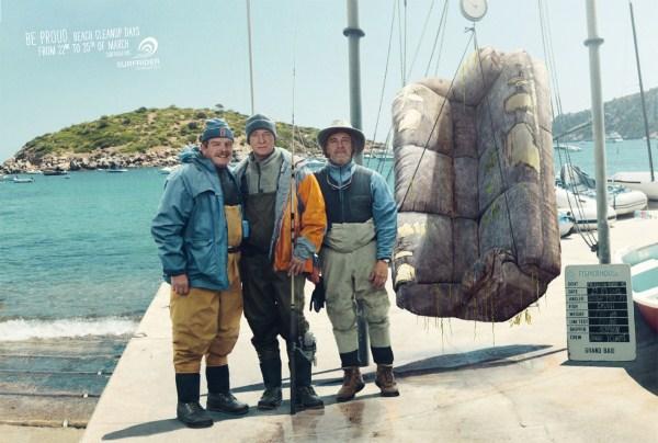 социальная кампания, привлекающая внимание к проблеме очистки мирового океана