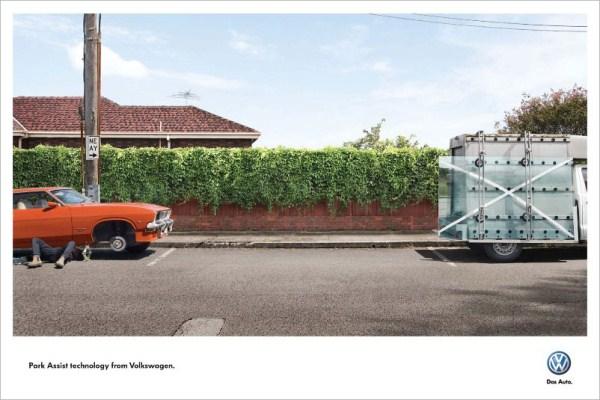 Рекламная кампания Volkswagen