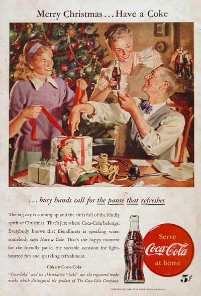 Coca-Cola рекламный плакат