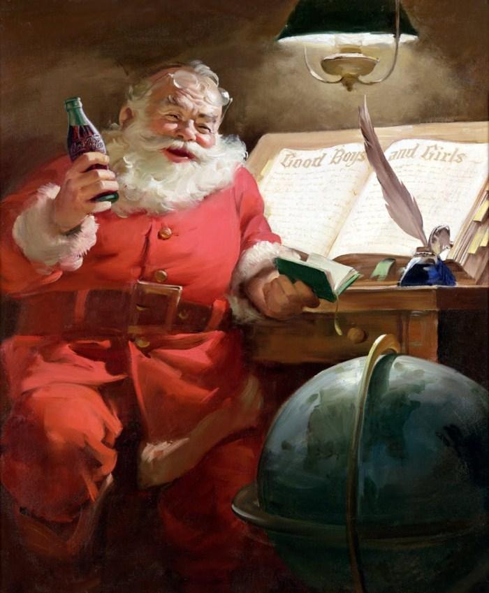 Санта-Клаус и Coca-Cola