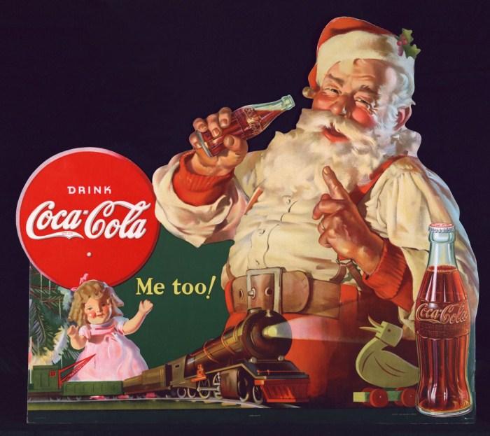 Санта-Клаус в рекламе и Coca-Cola