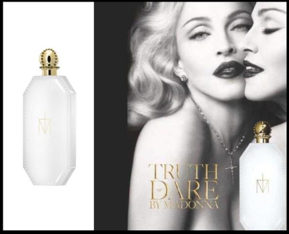 Реклама первого аромата от Мадонны