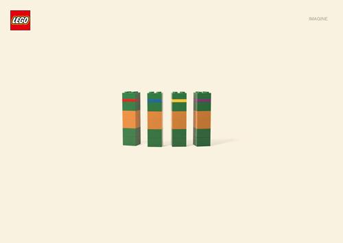 Креативные принты Lego