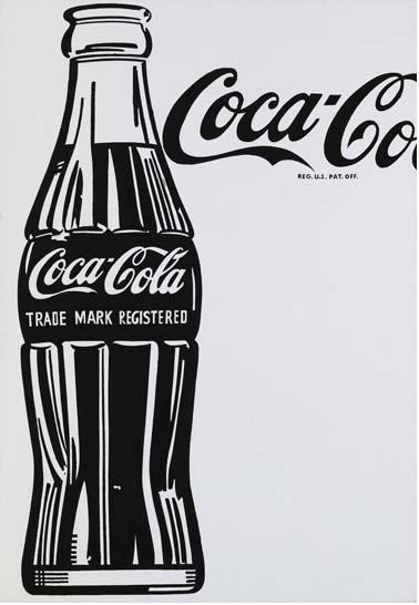 Andy Warhol бутылка Coca-Cola