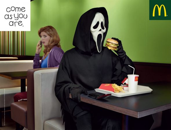 McDonald's «Come as you are»