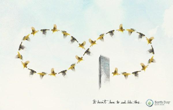 Социальная реклама ко Дню Земли