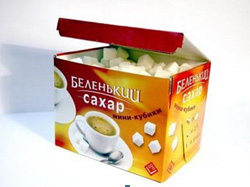 упаковка сахара 2005г. компания «Союз продукт»