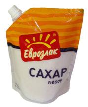 Сахар в упаковке дой-пак