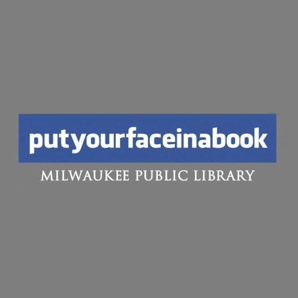 """Реклама общественной библиотеки - креативные принты """"1.Направь свое лицо в книгу"""""""
