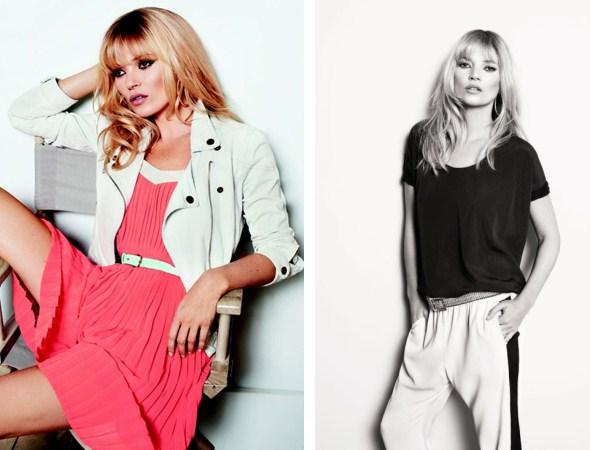 Кейт Мосс в новой рекламной кампании весеннее-летней коллекции одежного бренда Mango