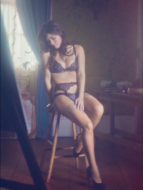 Милен Жампаной в фотосессии Agent Provocateur