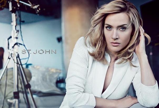 Кейт Уинслет в рекламной кампании St John