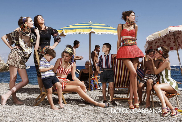 Рекламная кампания  Dolce & Gabbana весна-лето 2013