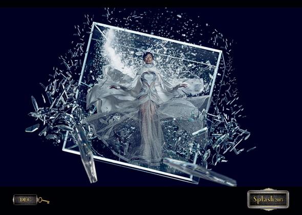 Модный бренд Splash новый календарь 2013