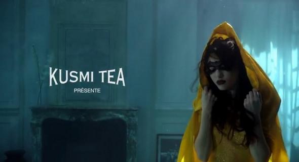 Рекламная кампания элитного чая Kusmi