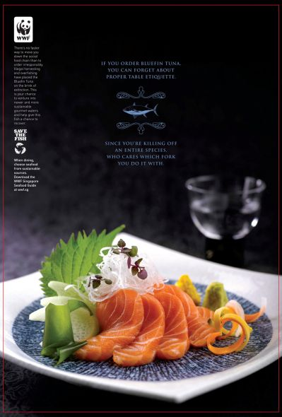 WWF Singapore: Enter the World of Sustainable Seafood, Bluefin tuna