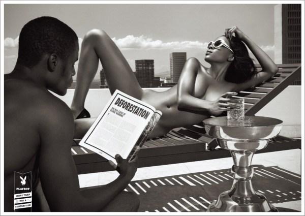 Нетипичная рекламная кампания журнала Playboy